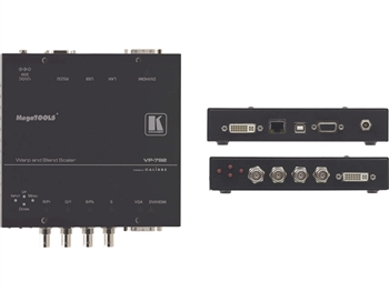 Kramer VP-792 - Multi-Format to DVI/HDMI Digital HQV Scaler with Warping, HQV & Geometric Processing