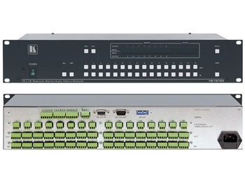 Kramer VS-1616A - 16x16 Balanced Stereo Audio Matrix Switcher