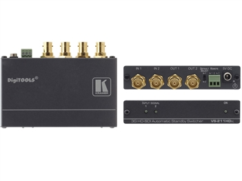 Kramer VS-211HDxl - 2x1:2 3G HD-SDI Automatic Standby Switcher