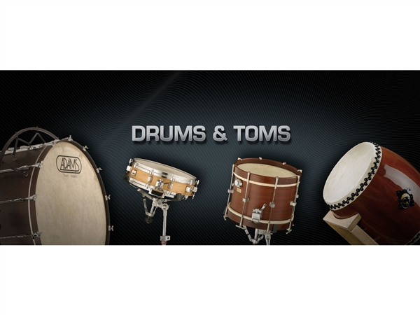 Vienna Symphonic Library Drums & Toms Upgrade to Full