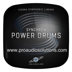 Vienna Symphonic Library Synchron Power Drums Standard VSLSYB07S