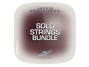 Vienna Symphonic Library Vienna Solo Strings Bundle Standard