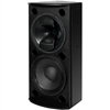 Tannoy VXP 12.2Q (black) Dual 12-inch Dual Concentric Lab Gruppen Powered Speaker