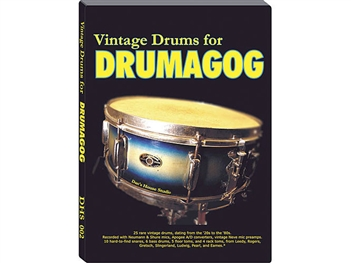Dan's House Vintage Drums Collection, Drumagog sample Library