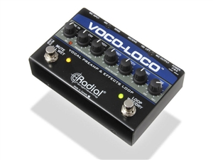Radial Engineering Voco-Loco Effects Switcher for Voice or Instrument