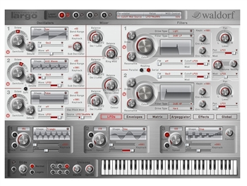 Waldorf Largo Softsynth (license code Download)