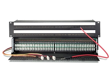 Audio Accessories WEP-962-SH 2x48x2RU Shorti Quick-Switch Audio Patchbay to 3-Pin EDAC Connectors