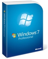 Windows 7 Professional 64-bit 1-Pack for System Builders (CD and Product Key) - OEM, Microsoft