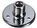 Windtech 8040 Podium Mounting Flange with Screws (Chrome)