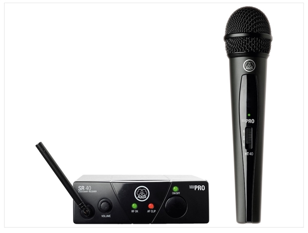 AKG WMS40 Mini Vocal Set Band US45C(662.3MHz), Wireless Mic System
