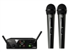 AKG WMS40 Mini2 Dual Vocal Set, US25A/C, Wireless Mic System