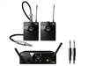 AKG WMS40 Mini2 Dual Instrumental Set, US45A/C