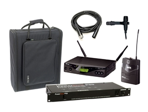 Rental WMS 470 Presenter, Lavalier  Wireless Mic system Band 7 AKG