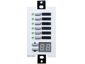 Ashly WR-5 - Wall Remote, Programmable Multi-Function