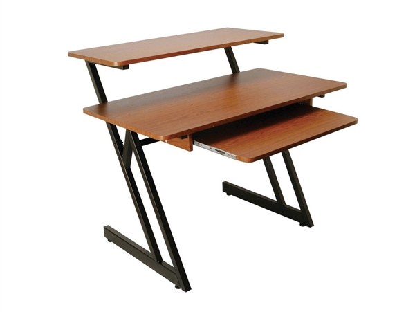 On-Stage WS7500RB Wood Workstation (Rosewood & Black Steel Finishes) Stands