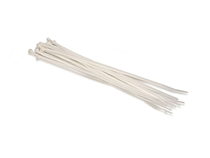 Hosa WTI-173 Plastic Wire Ties 20 pcs per pack. 10-inch White