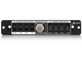 Behringer X-ADAT - 32- Channel ADAT / Wordclock Expansion Card for X32