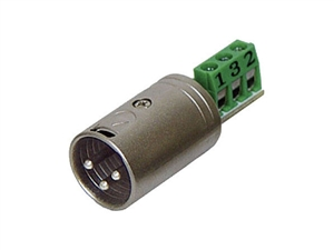 Rolls XLM113 Bare Wire to Male XLR Connector