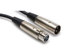 Hosa XLR-115 - XLRM to XLRF Cable - 15 ft. | Pro Audio Solutions