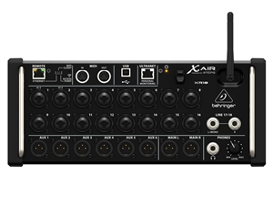 Behringer XR18 X Air - 18-input Channel, 12-bus Digital Rack Mixer