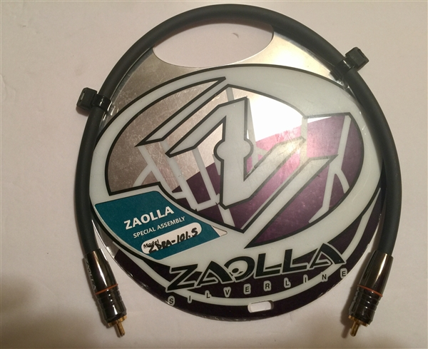 Zaolla ZDRA-101.5 - SPDIF Cable. 75 Ohm. RCA to RCA - 1.5 Ft.
