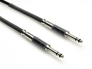 Zaolla ZTTS-101.5BK Patch Cable, Balanced TT to TT, 1.5 Ft.