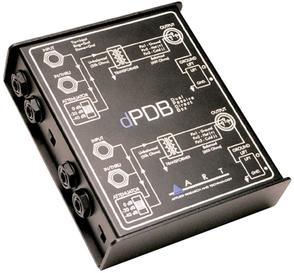 ART Audio dPDB - Dual Passive Direct Box