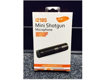 Mic W i2185 Mini Shotgun Kit for GoPro Hero, w/accessories