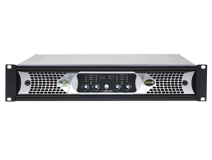 Ashly nXp4004 - Network Power Amplifier 4 x 400 Watts @ 2 Ohms with Protea DSP