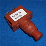 E-28304A-2 - Switch, Red Push Button Mighty Mite 3683/3684/3690/3695
