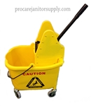 PRO/CARE Yellow Mop Bucket & Wringer Combo
