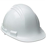 Safety Zone White Hard Hat