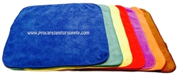 "PRO/CARE 12"" Premium Heavy Duty Microfiber Cloths"