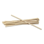 "Royal Paper 5 1/2"" Wooden Stir Stix"