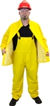 Safety Zone Heavy Weight 3 Piece Yellow Rain Suit
