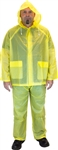 Safety Zone 3 Piece Yellow Rain Suit