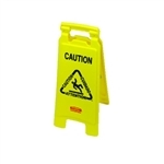 PRO/CARE Yellow Caution Wet Floor Sign