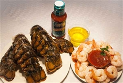 Lobster Tails & P & D Shrimp