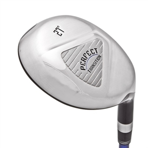 Perfect Club Golf Collection -  The Perfect Transition Hybrid, Right Hand Graphite Shaft, Includes headcover.