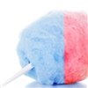 Blue and Red Cotton Candy
