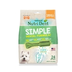Nylabone Nylabone Nutri Dent Edible Dental Chew, 24 ct Small Value Pack in shelf tray