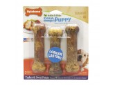 Nylabone Healthy Edibles Puppy Sweet Potato & Turkey Blister Card Regual 3ct