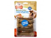 Nylabone Nylabone Healthy Edibles Puppy Longer Lasting Lamb & Apply Petite 8ct
