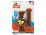 Nylabone Puppy Twin Pack Wolf