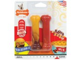 Nylabone Flavor Frenzy Bacon Cheeseburger/Apple Pie Flavor Regular