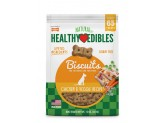 Nylabone Healthy Edibles Biscuits Dog Treats Chicken Peas Carrot 12oz