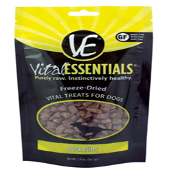 Vital Essentials FD Vital Treats Duck Nibs 2oz