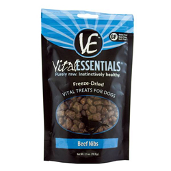 Vital Essentials FD Vital Treats - Beef Nibs 2.5oz
