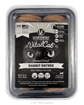 Vital Essentials Vital Cat Freeze-Dried Rabbit Mini Patties Entrée 10.5oz