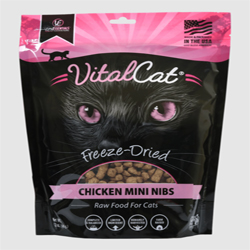 Vital Essentials Vital Cat Freeze-Dried Chicken Mini Nibs Entrée 10.5oz